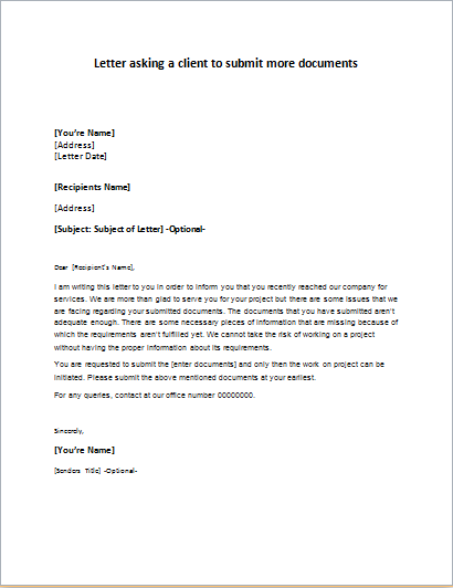 Company name change announcement letter for Covering letter for submission of documents