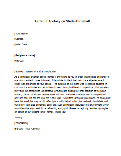 Apology Letter for Passive Aggressive Behavior writeletter2com