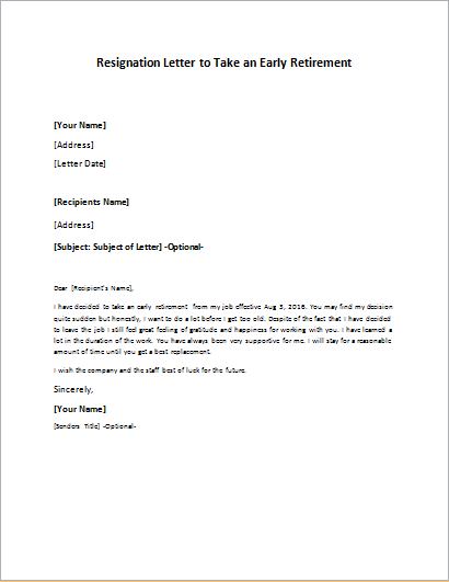 36+ Retirement Letter Templates – PDF, DOC