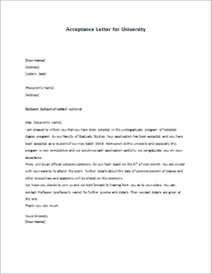 how to write acceptance letter acceptance letter for writeletter2 11741
