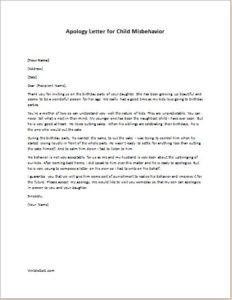 apology letter to teacher for misbehavior how to write a warning letter for misbehaviour employee 20484