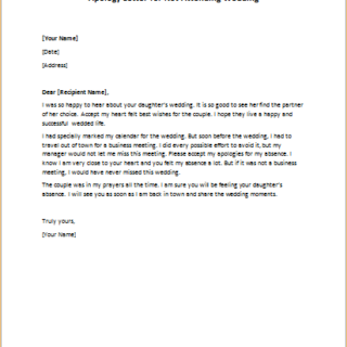 Apology letter for lying