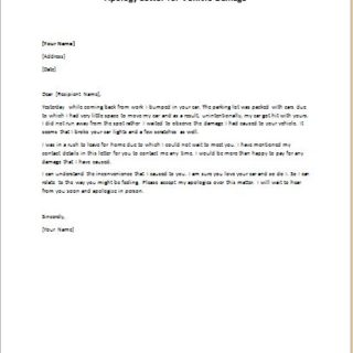 Apology Letters writeletter2com