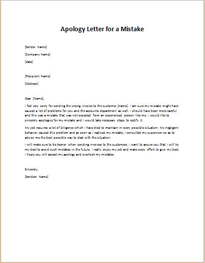 Apology Letter To Boss from writeletter2.com