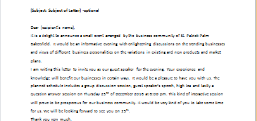 Speaker invitation cancellation letter writeletter2 invitation letter to someone to speak for business community spiritdancerdesigns Gallery