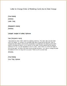 how to send letter letter to inform company name change business 1306
