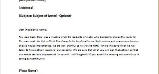 follow up letter after meeting in review actions