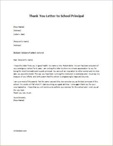 letter to school principal from parent fresh letter to school principal from parent cover 41521