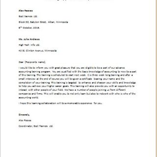 How to write an application letter 93a