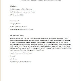 Complaint letter for hotel cleanliness facilities writeletter2 complaint letter about unclean facilities spiritdancerdesigns Choice Image