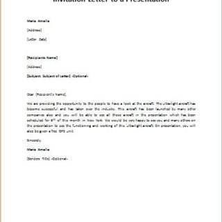 Invitation-Letter-to-a-Presentation-320x320 Sample Cancellation Of Application Letter on house purchase, patient appointment, nitrogen service,